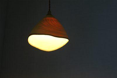 ランプシェード エノキ 中矢